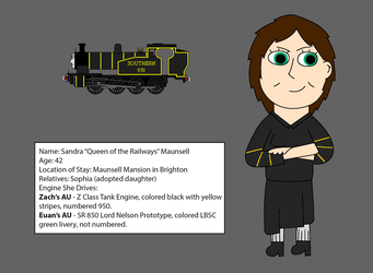 Sandra Maunsell Profile by BlueEngineLiz6