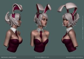 Bunny girl by Mateussm