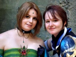 Cosplay: SoC - Iva and Dee by Dea-89