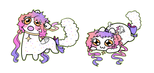 Cute cats being wooo by KyiwtieArt