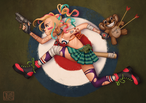 Tank Girl by joifish