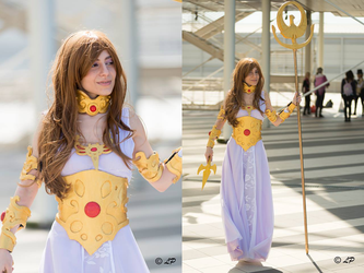 Manga Athena cosplay - Saint Seiya by UnicaGem