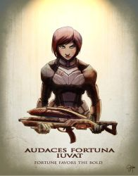 MASS EFFECT: Fortune favors the bold by TamsTheGenkiQueen