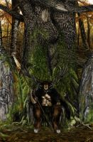 Cernunnos, the Hunter by Ionus
