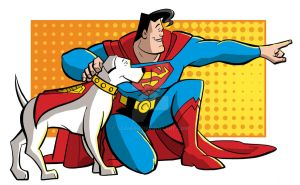 Superman's Best Friend by tzahler