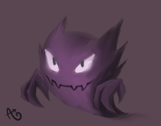 #093- Haunter by Boychic