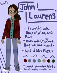 John Laurens Stranger Things! Au by Rainbow-Blyte