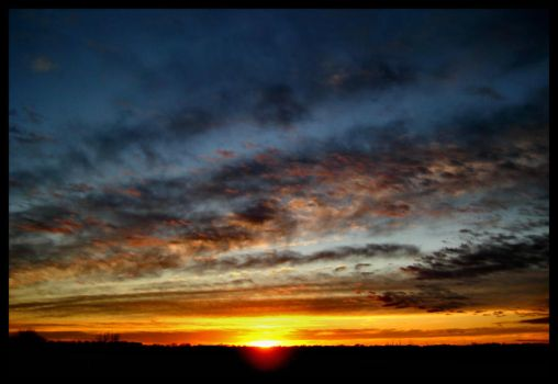 My Rooftop January by FramedByNature