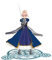 Artoria Pendragon - DOWNLOAD by Reina-R