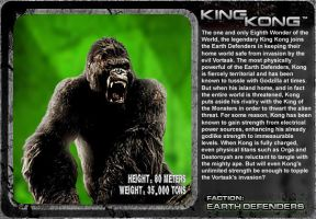 G Unleashed: King Kong by MegaZeo