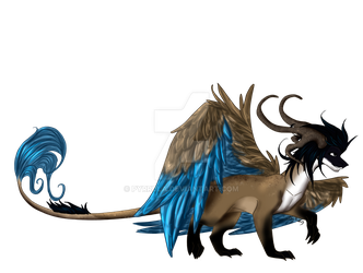 Feathered Dragon AUCTION [CLOSED] by pyrrula