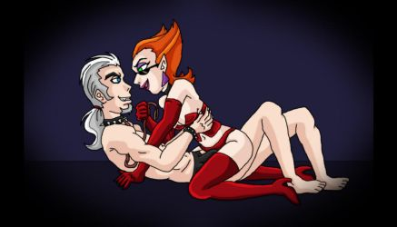 Vlad x Spectra have sexy time by kaitlynrager