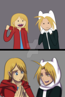 FMA X AT: Swapping Signature Items by witch-girl-pilar