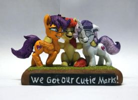 MLP:FIM We Got Our Cutie Marks! by uBrosis