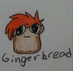 Ginger bread  by JackieblazeWolf