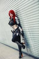 Katarina Cosplay League of Legends  I can't wait by MiuMoonlight