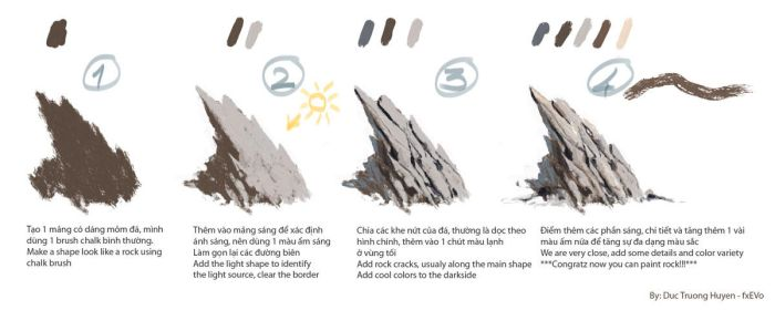 How to: paint a rock! by fxEVo