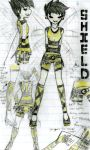 Shield's Outfit Design by AbbyDreamz