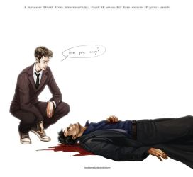 Doctor Who - Are you okay? by maXKennedy