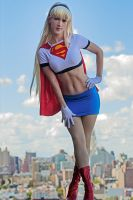 Supergirl animated shoot by Age-Velez