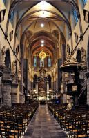 St Michaels Church, Ghent by Yannick-Wende