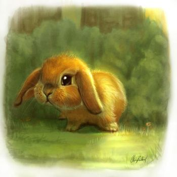 Little Bunny by ArtofOkan