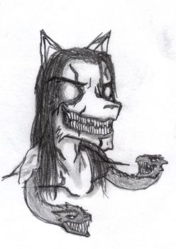 Another Cerberus Sketch by GnarledContradiction
