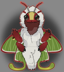 Moth Custom[Comm] by NinjaRose23