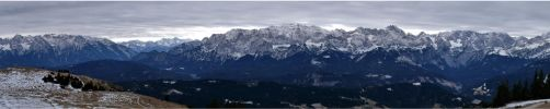Bavarian mountains by lomartistic
