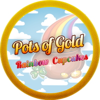Pots Of Gold Cupcakes by Echilon