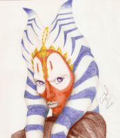 Jedi Master Shaak Ti by Crystal-Cat