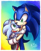 AT: Sonic and Monty by KetLike