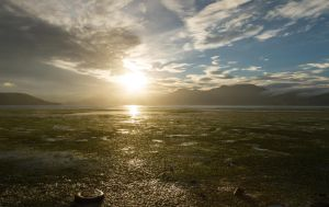 Low Tide Sunset by ARC-Photographic