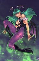 Morrigan by Edwin Huang Colors by GiuliaPriori