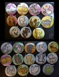 Buttons 2/2 by RonTheWolf