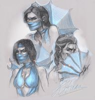Kitana by ShivaWalker