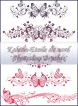 ornamental brushes set 1 by Etoile-du-nord