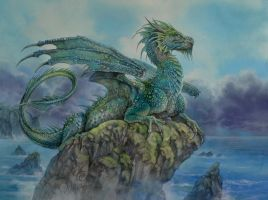 Neptunes Dragon by Fabeltier