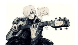 Guitar by Amal-Amaru