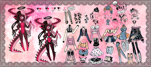 Xynthii: Adopt: Obsceneguppie Collab: CLOSED by ObsceneBarbie