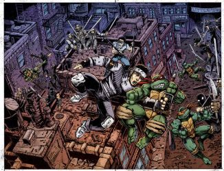 IDW TMNT Annual by Kevineastman