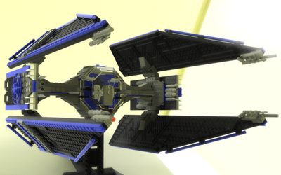 Lego TIE Fighter by ghost-403
