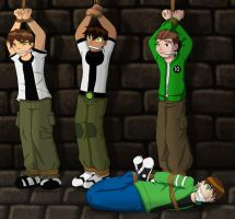 Ben 10 boys in trouble by TheKeeper197