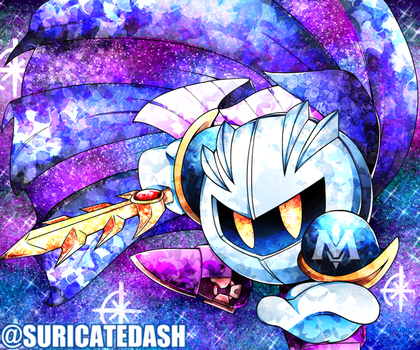 Meta Knight|Using a MOUSE|+Speedpaint by SuricateDash