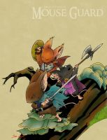 Mouse Guard: Branching Out by Rustox