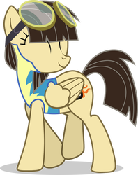 Wonderbolt Cadet Wing Pony - Wildfire by TomFraggle