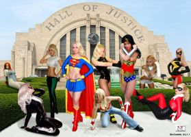 Hall of Justice - Update by TheSnowman10