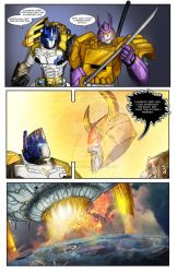 Transformers - Cybertronians page 20 by shatteredglasscomic