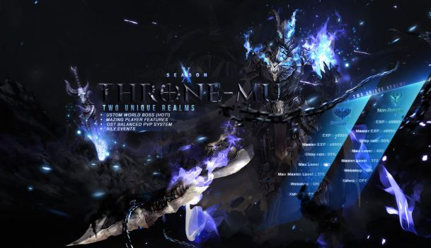 Throne-Mu Loading Screen by Deneky
