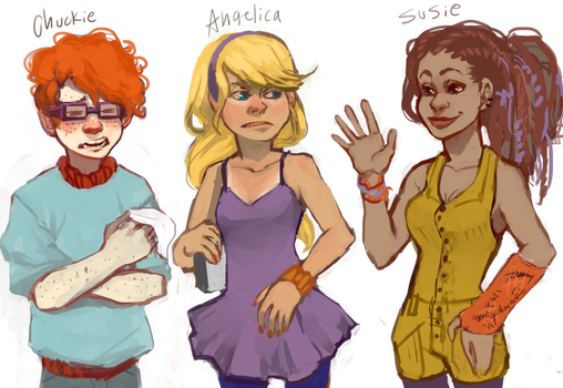 Some Rugrats by Leerer-Raum